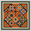 cross stitch pattern Enhanced Diamonds - Halloween