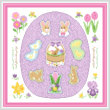 cross stitch pattern Easter Maze