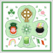 cross stitch pattern Irish Maze