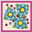 cross stitch pattern Vibrance - Artistic