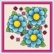 cross stitch pattern Vibrance - Random