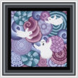 cross stitch pattern October Night