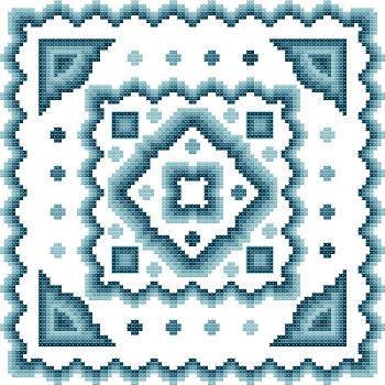 cross stitch pattern Fantasia  11