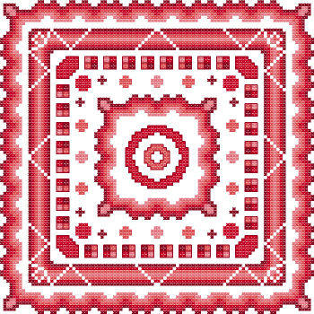 cross stitch pattern Fantasia  12