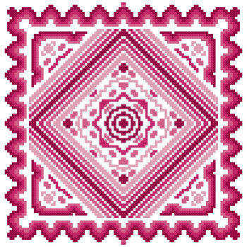 cross stitch pattern Fantasia  13