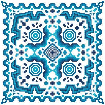cross stitch pattern Fantasia  14