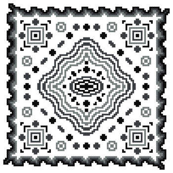 cross stitch pattern Fantasia  15