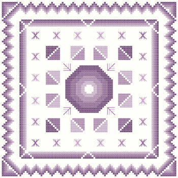 cross stitch pattern Fantasia  1