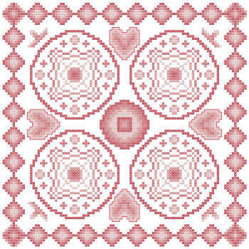cross stitch pattern Fantasia  4