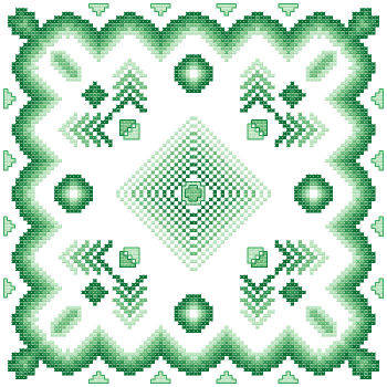 cross stitch pattern Fantasia  5