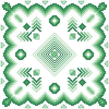cross stitch pattern Fantasia  5