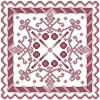 cross stitch pattern Fantasia  7
