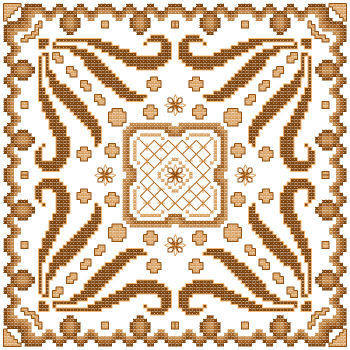 cross stitch pattern Fantasia  8
