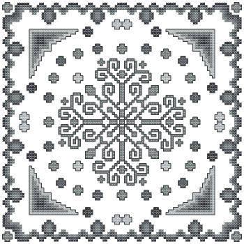 cross stitch pattern Fantasia  9