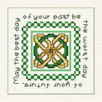 cross stitch pattern Irish Medallion