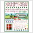 cross stitch pattern New Brunswick Sampler