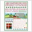 cross stitch pattern New Brunswick Sampler