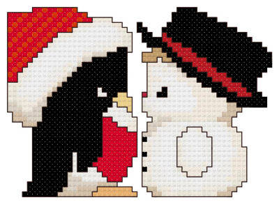 cross stitch pattern Friends