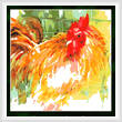 cross stitch pattern Here's Looking at You! (Rooster)