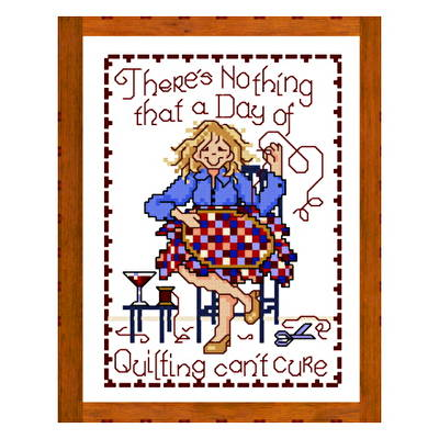 cross stitch pattern Quilting Cure