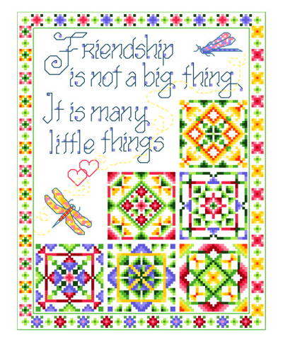 cross stitch pattern Little Things