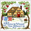 cross stitch pattern Home is Where the Heart Is