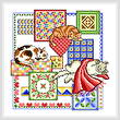 cross stitch pattern Cat Nap Quilts