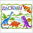 cross stitch pattern Once Upon a Dinosaur