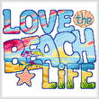 cross stitch pattern Love the Beach Life
