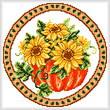 cross stitch pattern Seasonal Circle/ Oct Memory