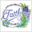 cross stitch pattern Feathered Faith