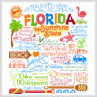 cross stitch pattern Let's Visit Florida