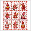 cross stitch pattern Mingle Jingle Zoom Gnomettes