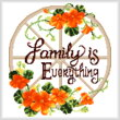 cross stitch pattern Togetherness - Autumn