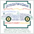 cross stitch pattern Let's Go for a Drive