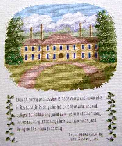 cross stitch pattern From Persuasion