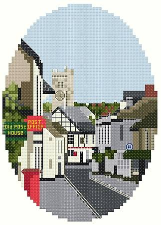 cross stitch pattern M'Hampstead