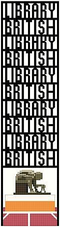 cross stitch pattern British Library