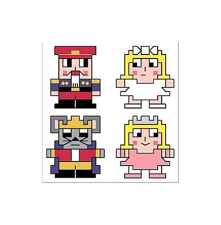cross stitch pattern Nutcracker Quad Set