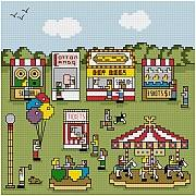 cross stitch pattern County Fair