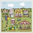 cross stitch pattern County Fair