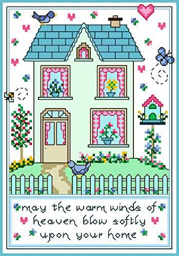 cross stitch pattern Warm Winds
