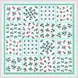 cross stitch pattern Flower Patch