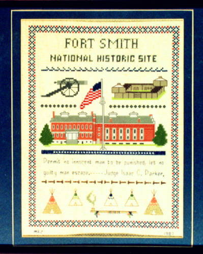 cross stitch pattern Fort Smith