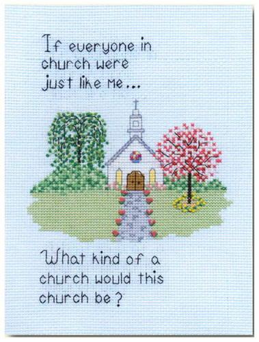 cross stitch pattern If Everyone