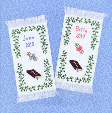 cross stitch pattern Seminary Graduation Bookmarks