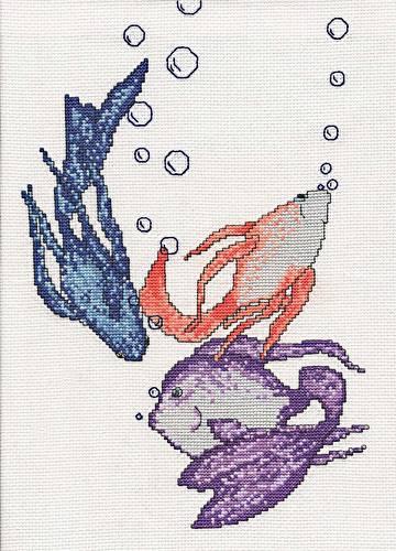 cross stitch pattern Goldfish
