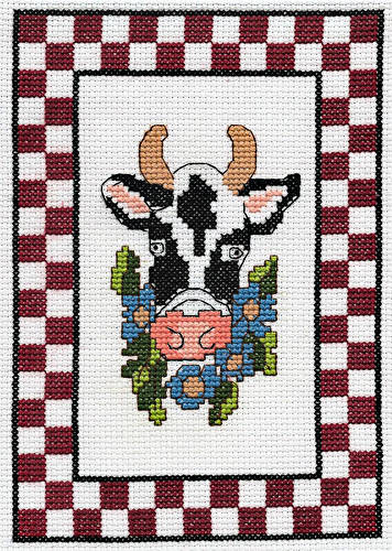 cross stitch pattern Miss Goody