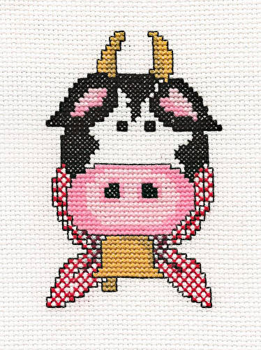 cross stitch pattern Miss Molly