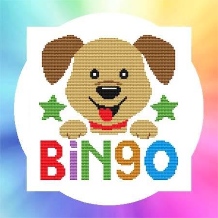 cross stitch pattern Nursery Rhyme - Bingo